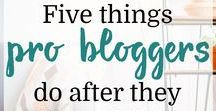 Blogging Tips / Blogging tips and information, including posts on building social media presence on Pinterest and other forums