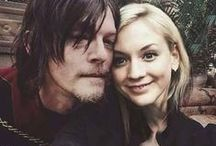 Bethyl_normily_TWD♥ / emily kinney,norman reedus THe walking dead ,