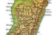 Madagascar,Mauritius and Seychelles islands