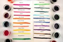 Inks & Watercolors / All the colors and neutrals for your pen or brush.
