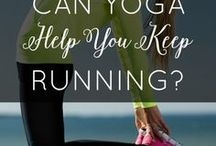 Yoga for Runners / Yoga information, poses, and routines