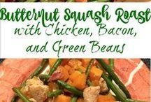 Squash Recipes / Squash recipes (mostly butternut squash and spaghetti squash)
