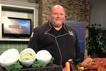 Two Fat Men Television Appearances & Printed Segments / Here are photos & news clips of times we were featured in the media!  www.twofatmencatering.com