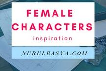 Female Characters Inspiration / For my WIP. And because I couldn't draw.