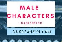 Male Characters Inspiration / Mostly Chinese art inspired male characters. #hotguyswouldstilllookhotwithlonghair