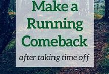 Return to Running / Returning to running after time off from an injury.