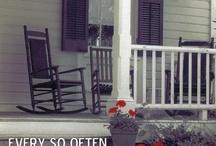 Vintage Home / Rooms, doorways, staircases... Anything vintage!