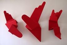 Sculptures Rouges
