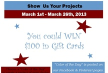 Show Us Your Projects Contest