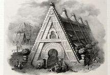 Antonio Basoli (1774-1848) / Итальянский живописец, рисовальщик, гравер, сценограф. Сформировался в Болонье, где окончил болонскую Академию художеств. 'Alfabeto Pittorico'  (1839),  состоит из 25  букв алфавита (не используется J), но содержит дополнительный символ амперсанд &, который ранее входил в состав английского алфавита.