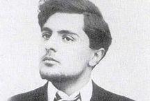 Amedeo Modigliani (1884-1920) / Итальянский художник и скульптор, один из самых известных художников конца XIX — начала XX века, яркий представитель экспрессионизма. Как на полотнах, так и в скульптуре, основным мотивом Модильяни являлся человек.