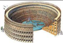 Colosseum / памятник архитектуры Древнего Рима, наиболее известное и одно из самых грандиозных сооружений древнего мира, сохранившихся до нашего времени.