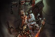 Fantasy Art / Conan and Barbarians / by Chuck Russell