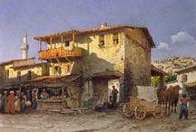Luigi Premazzi (1814-1891) / Премацци был одним из наиболее плодовитых акварелистов-живописцев. Множество его акварелей украшали альбомы членов императорской фамилии и знатных аристократов. Его произведения экспонировались неоднократно на разных выставках в России, Вене, Париже, Лондоне, Милане и Константинополе.