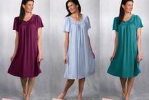 Timeless Petals Collection / Traditional and timeless sleepwear in Shadowline's exclusive Opacatrique fabric made in the USA. 8 styles and 12 colors are available for a beautiful addition to your lingerie collection. America's #1 Travel Set!