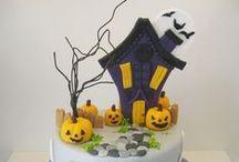 haloween cakes