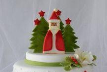 christmas and cake
