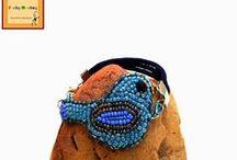 My designs: Bead embroidery jewelry / http://funkymonkey-handmadecreations.blogspot.gr/