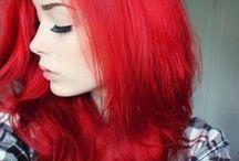 all shades of: RED hair / cabelo vermelho