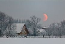 Cold Places chosen by Linda J Pifer, writer. / Quiet, Peace, Home,  Respite from the day.