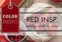 Ravenous Red weddings and event inspiration