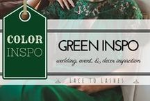 Green Wedding, Event and Decor Inspiration / Green Wedding, Event and Decor Inspiration