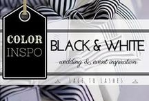 Event Planning: Noir & Blanc / Design Inspiration for events, parties, and celebrations. Check out more ideas at lacetolashes.com