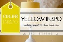 Yellow wedding, events, decor inspiration / Yellow wedding, yellow events, yellow decor inspiration, yellow color inspiration