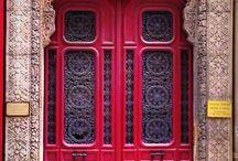 Home-Enter With Beauty / Interior Design, Doors, Foyer, lobby, entrance