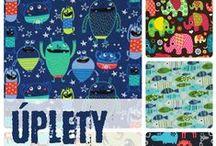 Bavlněné úplety nejen pro děti :-) / Jersey prints / Veselé bavlněné úplety na dětská trička, mikiny, legíny, tepláčky a jiné :-)