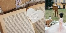 Matrimonio: Tea Party - Tea Party Wedding / Matrimonio - Tea Party letterario - Libri - Jane Austen - Wedding - Books