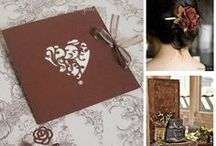 Matrimonio autunnale: Cioccolato - Chocolate Brown Wedding