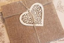 Matrimonio: Iuta e Velo da sposa || Wedding: Burlap and Baby's Breath