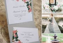 Matrimonio: Rosa pesca e grigio - Peach and Grey Wedding