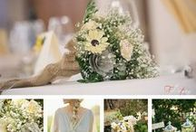 Matrimonio Giallo Limone e Grigio - Pale Yellow and Grey Wedding