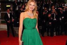 moda en verde/fashion green