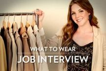 Interview Attire for Women  / Helpful information about what to wear for interviews