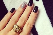 Nails / Um... Nails. I love nail polishes, long nails, colors, crazy manicures, simple manicures. I ♥ Nails
