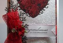 Love, Valentine, Anniversary Cards / Handmade cards by me