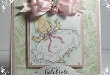 Baby / handmade cards for Baby Congratulations