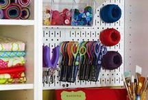 Organize & Save Space / Ways to organize and save space.
