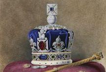 British crowns, regalia, coronets and coronation robes. / by Nicolas Vandevoorde