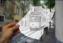 Photo & drawing