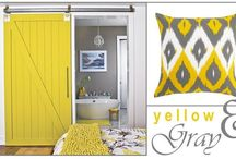 Color Pairings / Yellow and Gray