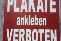 Unit 03 - Schilder / Fotos von Schildern, Hinweisen, Zeichen