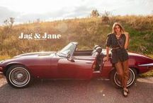 Jag and Jane / Glittering fashion in vintage style.