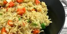 Rezepte mit Reis / Reis ist mehr als nur ein Nebendarsteller! Auf diesem Board spielt Reis die Hauptrolle <3