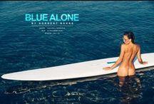 Blue Alone / Photo Baksa Norbert Model Viktoria Szorcsik MUA Alexandra Nyul Styling Aniko VAgo