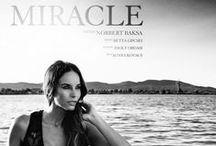 MIRACLE / Photo Baksa Norbert Model Betta Lipcsei Styling Zsolt Ordasi  MUA Agnes Kovacs