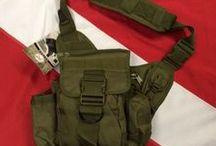 Tactical Bags, Belts